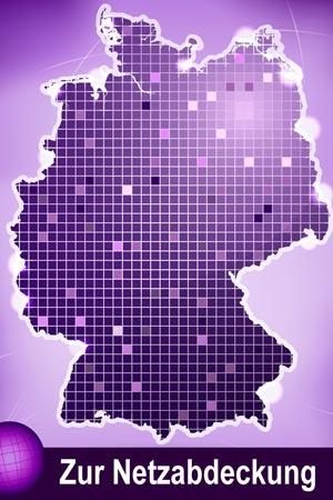 congstar Netzabdeckung (Telekom D1 Netz)