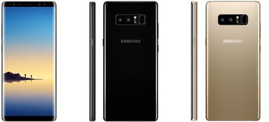 Samsung Galaxy Note 8 günstig mit congstar Vertrag