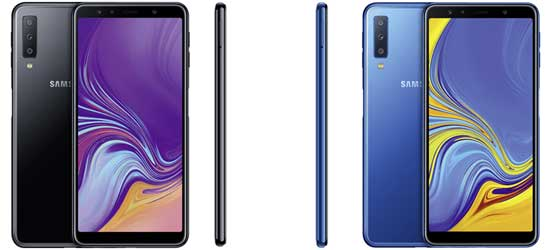 Samsung Galaxy A7 günstig mit congstar Vertrag