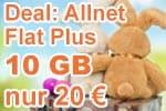 Deal: congstar Allnet Flat Plus 10 GB für 20 € mtl.