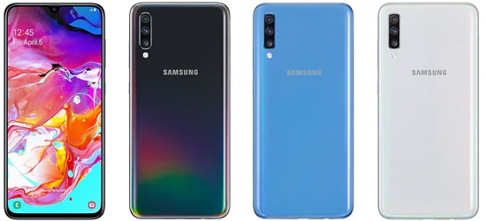 Samsung Galaxy A70 günstig mit congstar Vertrag
