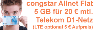 congstar Allnet Flat Aktion