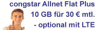 congstar Allnet Flat Plus Aktion