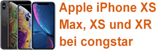 Apple iPhone bei congstar