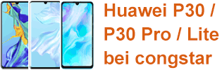 Huawei P30 bei congstar