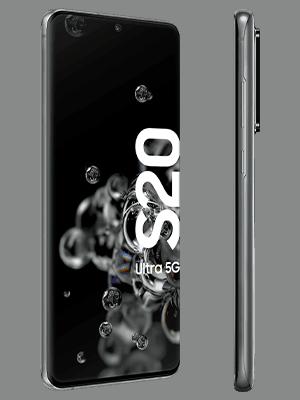 congstar - Samsung Galaxy S20 Ultra 5G (grau / seitlich)