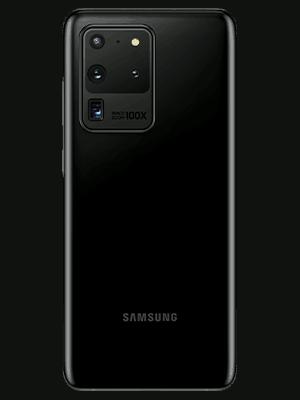 congstar - Samsung Galaxy S20 Ultra 5G (schwarz / hinten)