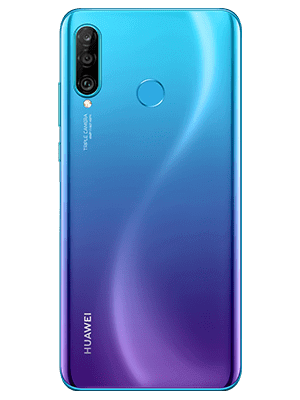 congstar - Huawei P30 lite New Edition - Peacock Blue / blau (hinten)