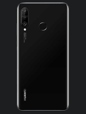 congstar - Huawei P30 lite New Edition - schwarz (hinten)