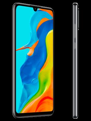 congstar - Huawei P30 lite New Edition - schwarz (seitlich)
