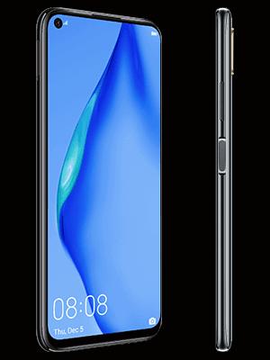 congstar - Huawei P40 lite - schwarz (seitlich)