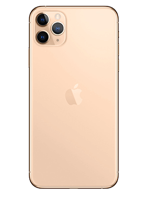 congstar - Apple iPhone 11 Pro Max - gold (hinten)
