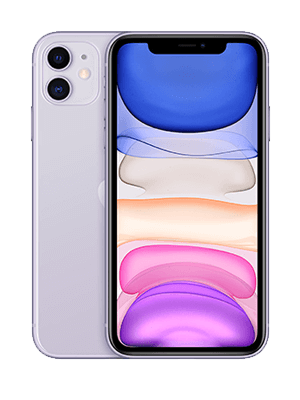 congstar - Apple iPhone 11 - violett