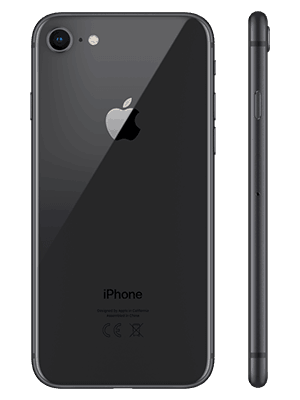 congstar - Apple iPhone 8 (schwarz)