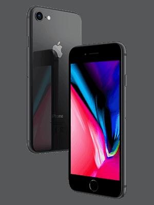 congstar - Apple iPhone 8 (schwarz / seitlich)