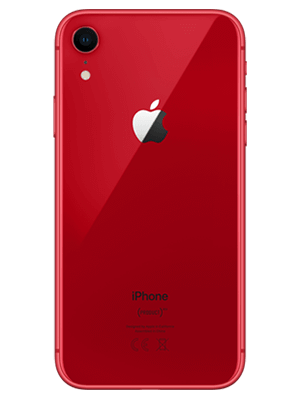 congstar - Apple iPhone XR - rot / product red (hinten)