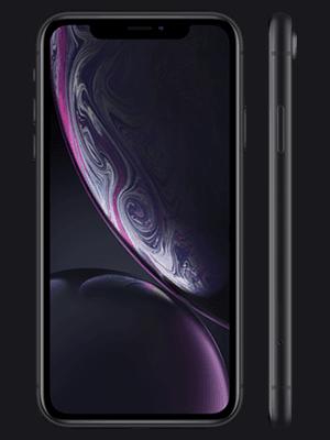 congstar - Apple iPhone XR - schwarz (seitlich)