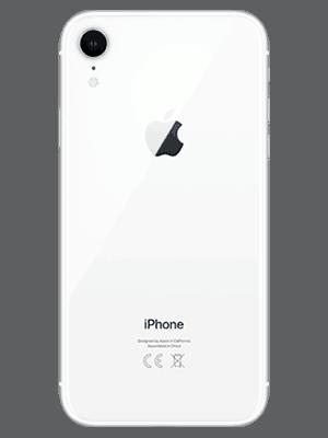 congstar - Apple iPhone XR - weiß (hinten)