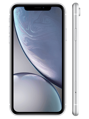 congstar - Apple iPhone XR - weiß (seitlich)