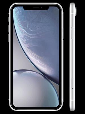 congstar - Apple iPhone XR - weiß (seitlich)