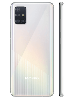 congstar - Samsung Galaxy A51 - weiß (prism crush white)