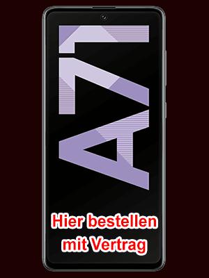 congstar - Samsung Galaxy A71 hier bestellen