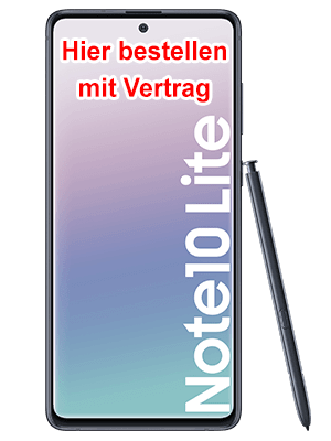 congstar - Samsung Galaxy Note 10 Lite hier bestellen