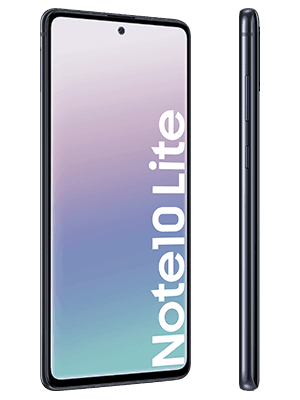 congstar - Samsung Galaxy Note 10 Lite (schwarz / seitlich)