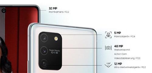 congstar - Kamera des Samsung Galaxy S10 Lite