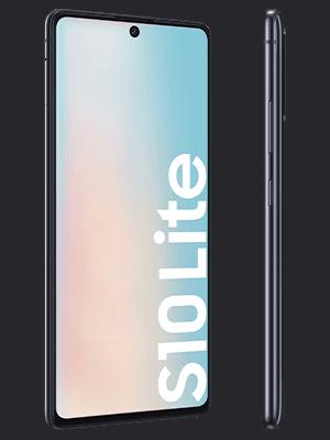 congstar - Samsung Galaxy S10 Lite (schwarz / seitlich)
