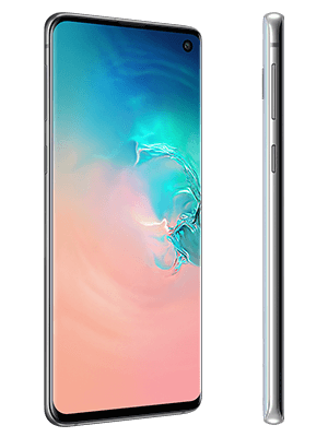 congstar - Samsung Galaxy S10 - weiß (seitlich)