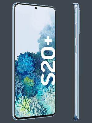 congstar - Samsung Galaxy S20+ (blau / seitlich)