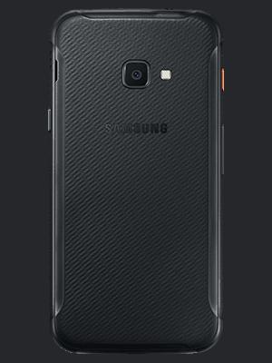congstar - Samsung Galaxy XCover 4s (schwarz / hinten)