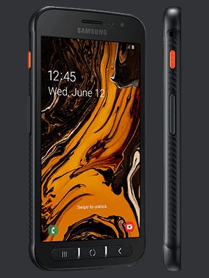 congstar - Samsung Galaxy XCover 4s (schwarz / seitlich)