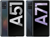 Samsung Galaxy A51 / A71 bei congstar