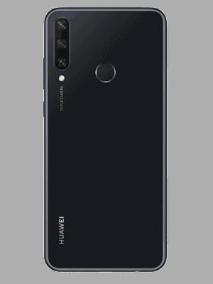 congstar - Huawei Y6p (schwarz / hinten)