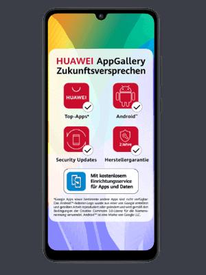 congstar - Huawei Y6p - Zukunftsversprechen