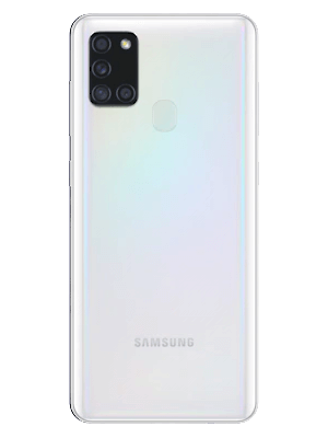 congstar - Samsung Galaxy A21s (weiß / hinten)