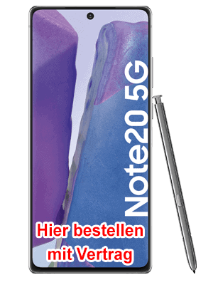 congstar - Samsung Galaxy Note20 5G hier bestellen