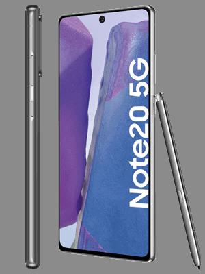 congstar - Samsung Galaxy Note20 5G (grau / seitlich)