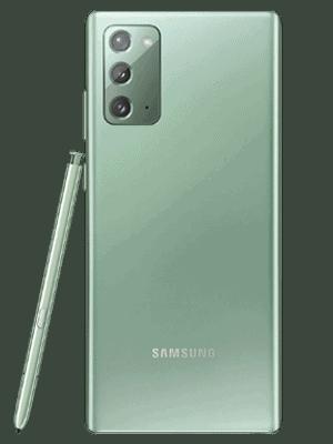 congstar - Samsung Note20 5G (grün / hinten)