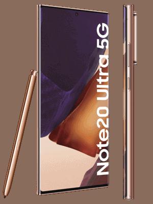 congstar - Samsung Galaxy Note20 Ultra 5G (kupfer / seitlich)
