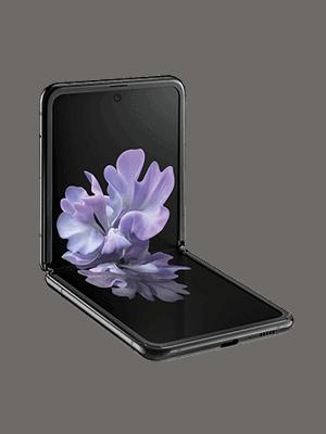 congstar - Samsung Galaxy Z Flip (schwarz / seitlich)