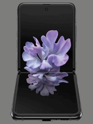 congstar - Samsung Galaxy Z Flip (schwarz / aufgeklappt)