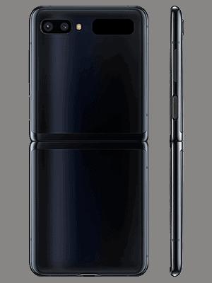 congstar - Samsung Galaxy Z Flip (schwarz / hinten)