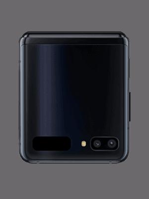 congstar - Samsung Galaxy Z Flip (schwarz / zugeklappt)