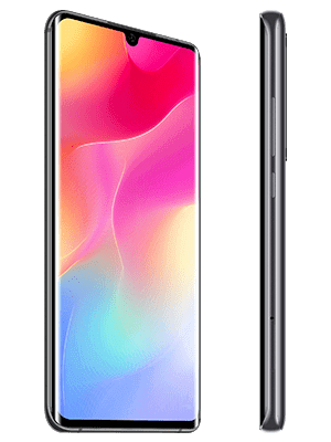 congstar - Xiaomi Mi Note 10 lite (schwarz / seitlich)
