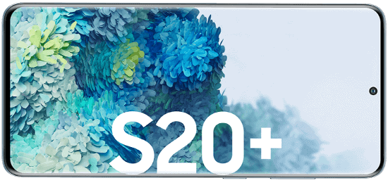 Display vom Samsung Galaxy S20+