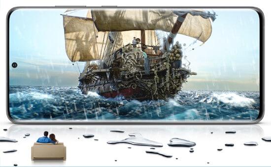 Display vom Samsung Galaxy S20 Ultra 5G
