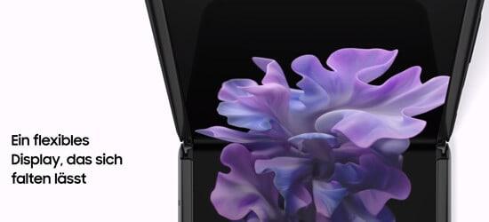 Display vom Samsung Galaxy Z Flip 5G